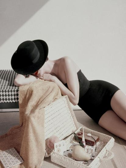 Glamour - July 1955-Leombruno-Bodi-Premium Photographic Print