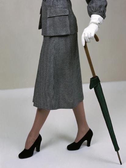 Glamour - November 1946-Serge Balkin-Premium Photographic Print
