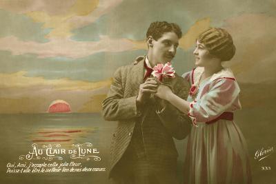 Glamour Postcard-English Photographer-Giclee Print