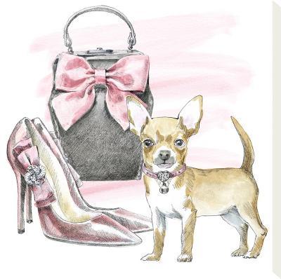 Glamour Pups I-Wild Apple Portfolio-Stretched Canvas Print