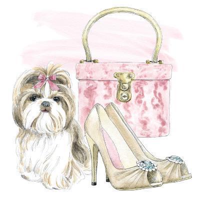 Glamour Pups II-Wild Apple Portfolio-Art Print
