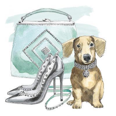 Glamour Pups III-Wild Apple Portfolio-Art Print