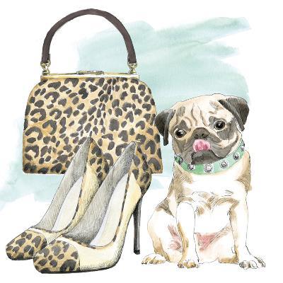 Glamour Pups IV-Wild Apple Portfolio-Art Print