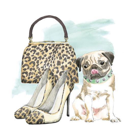 Glamour Pups IV-Beth Grove-Art Print