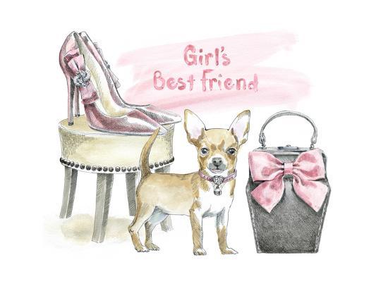 Glamour Pups VI-Beth Grove-Art Print