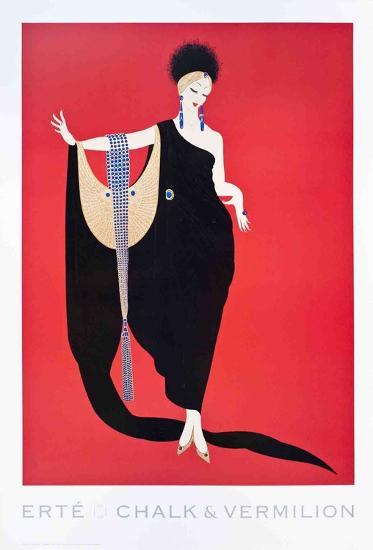 Glamour-Erte-Collectable Print