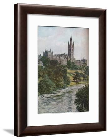 'Glasgow', c1930s-Donald McLeish-Framed Giclee Print