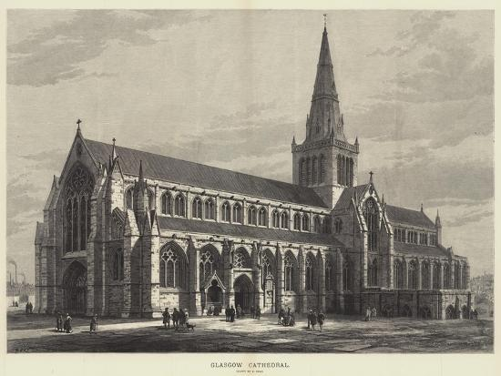Glasgow Cathedral-Samuel Read-Giclee Print