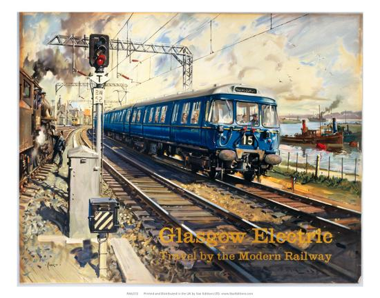 Glasgow Electric, BR (ScR), c.1960s--Art Print