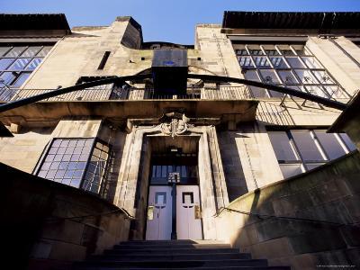 Glasgow School of Art, Designed by Charles Rennie Mackintosh, Glasgow, Scotland-Adam Woolfitt-Photographic Print