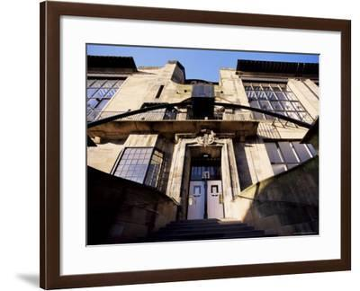 Glasgow School of Art, Designed by Charles Rennie Mackintosh, Glasgow, Scotland-Adam Woolfitt-Framed Photographic Print