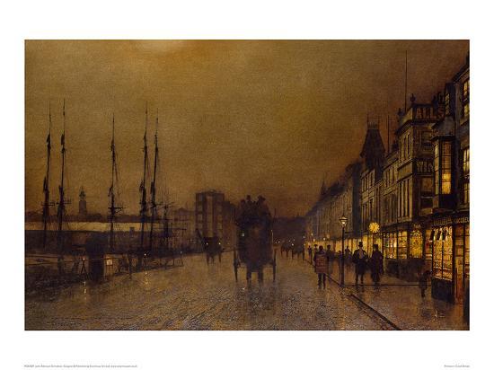 Glasgow-John Atkinson Grimshaw-Giclee Print
