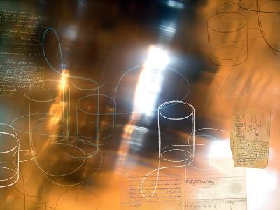 Glass 1-Enrico Varrasso-Art Print