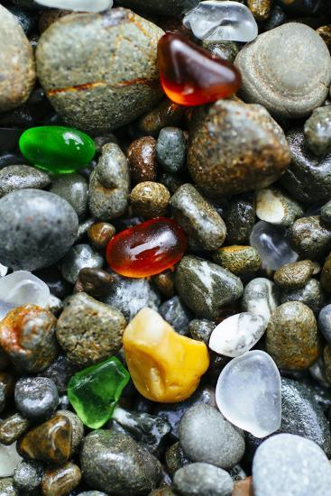 Glass Beach Near Fort Bragg California Photographic Print by Justin Bailie  | Art com