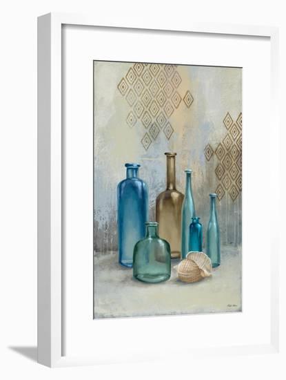 Glass Bottles II-Michael Marcon-Framed Art Print