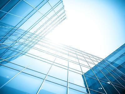 Glass Building Perspective View-Vladitto-Photographic Print