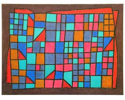 Glass Cladding, c.1940-Paul Klee-Art Print