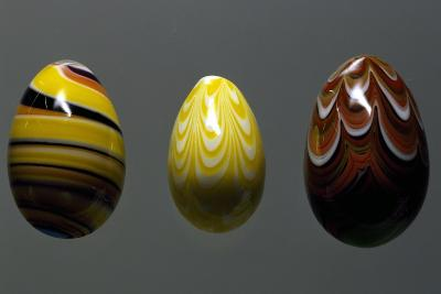 Glass Eggs--Giclee Print