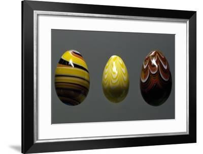 Glass Eggs--Framed Giclee Print