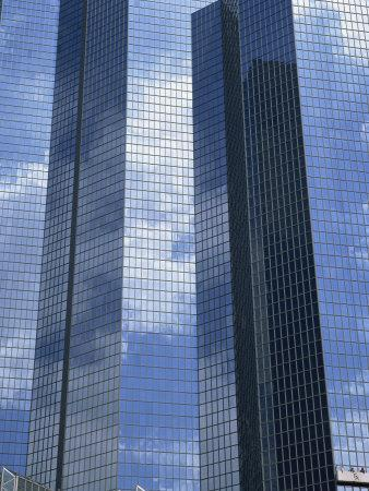 Glass exterior modern office Architecture Glass Exterior Of Modern Office Building La Defense Paris France Europe Photographic Print By Rainford Roy Artcom Artcom Glass Exterior Of Modern Office Building La Defense Paris
