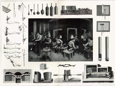 Glass Manufacture--Giclee Print