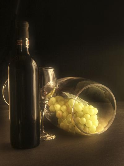 Glass of Grapes-C^ McNemar-Photographic Print