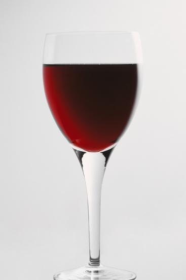 Glass of Red Wine-Lawrence Lawry-Photographic Print