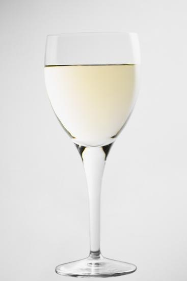 Glass of White Wine-Lawrence Lawry-Photographic Print