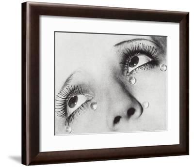 Glass Tears, 1932-Man Ray-Framed Art Print