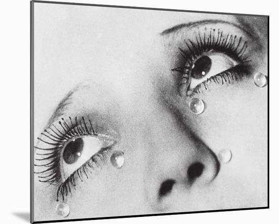 Glass Tears, 1932-Man Ray-Mounted Art Print