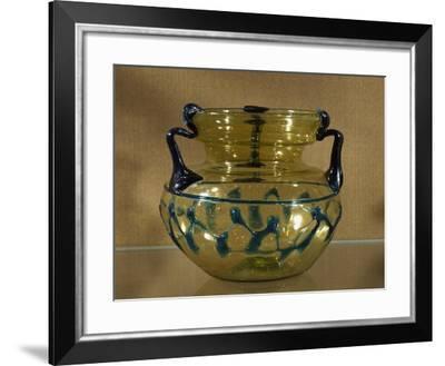 Glass Vase from Tyre, Lebanon--Framed Giclee Print