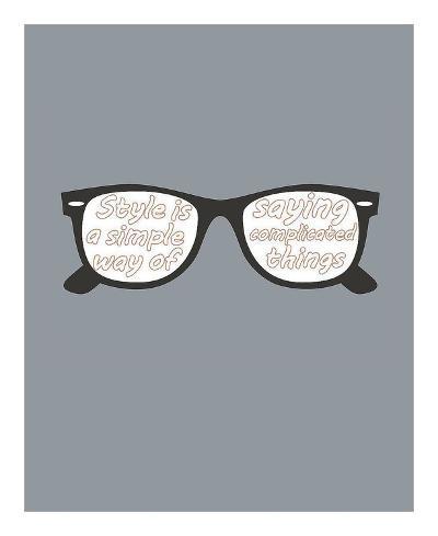 Glasses-GraphINC-Art Print