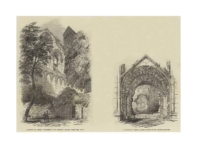 Glastonbury Abbey--Giclee Print