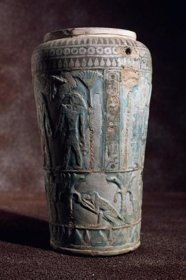 Glazed Earthenware Vase of Egyptian Origin--Giclee Print