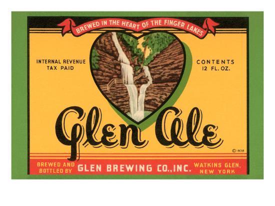 Glen Ale--Art Print