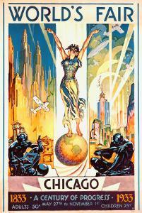 World's Fair, Chicago, 1933 by Glen C^ Sheffer