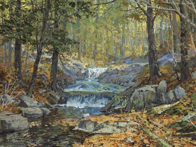 Glen Creek Waterfalls-Peter Snyder-Giclee Print