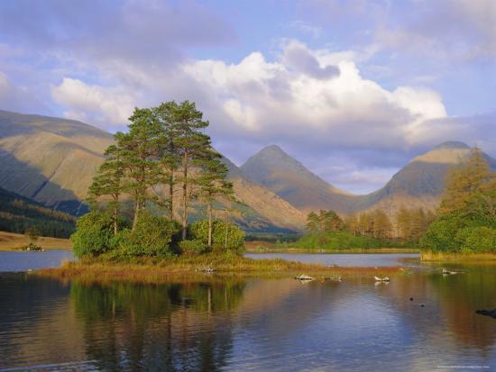 Glen Etive, Highlands Region, Scotland, UK, Europe-Roy Rainford-Photographic Print