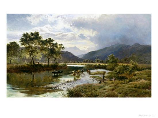 Glen Falloch, Scotland-Sidney Richard Percy-Giclee Print