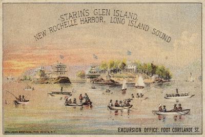Glen Island--Giclee Print