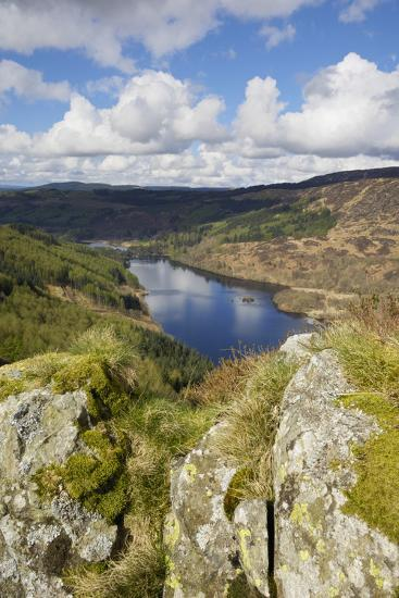 Glen Trool, Seen from White Bennan, Dumfries and Galloway, Scotland, United Kingdom, Europe-Gary Cook-Photographic Print