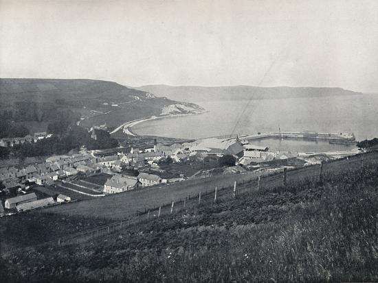 'Glenarm - The Town and the Harbour', 1895-Unknown-Photographic Print
