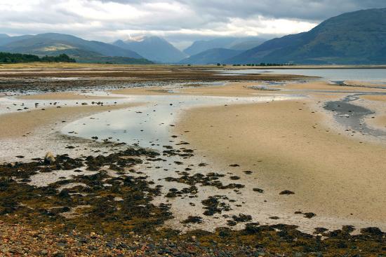 Glencoe from across Loch Linnhe, Highland, Scotland-Peter Thompson-Photographic Print