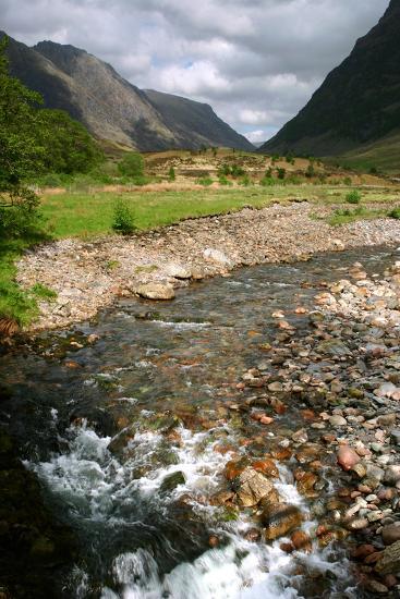 Glencoe, Highland, Scotland-Peter Thompson-Photographic Print