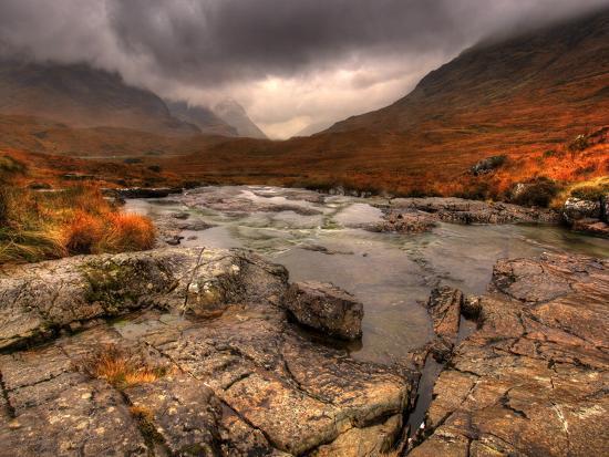 Glencoe, Highlands, Scotland, Uk-David Wogan-Photographic Print
