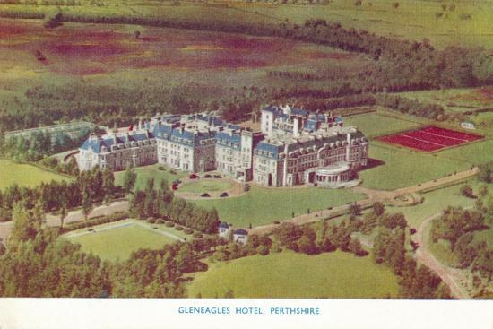 'Gleneagles Hotel, Perthshire', c1930-Unknown-Giclee Print