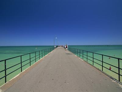 Glenelg Pier, Glenelg, Adelaide, South Australia, Australia, Pacific-Neale Clarke-Photographic Print