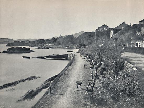 'Glengarriff - The Esplanade', 1895-Unknown-Photographic Print