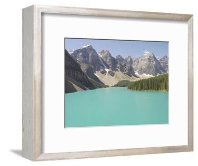 Glacially-Fed, Moraine Lake, Alberta, Canada
