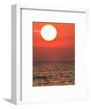 Sunrise or Sunset over the Ocean